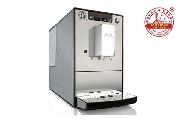 Máy pha cà phê MELITTA caffeo solo màu bạc