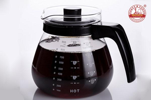 Bình thủy tinh phục vụ cà phê có nắp (900 ML)