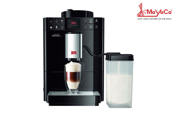 Máy pha cà phê melitta loại caffeo passione ot black