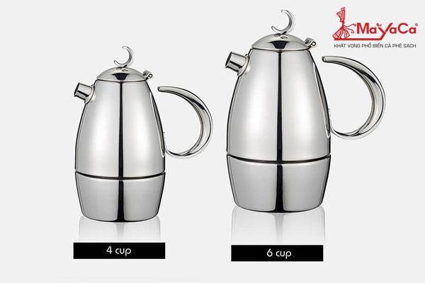 Bình pha cà phê Moka (1-4 người dùng)