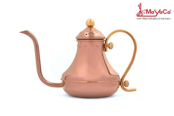 Ấm rót nước nóng cafe – Thổ Nhĩ Kỳ màu đồng 420 ml