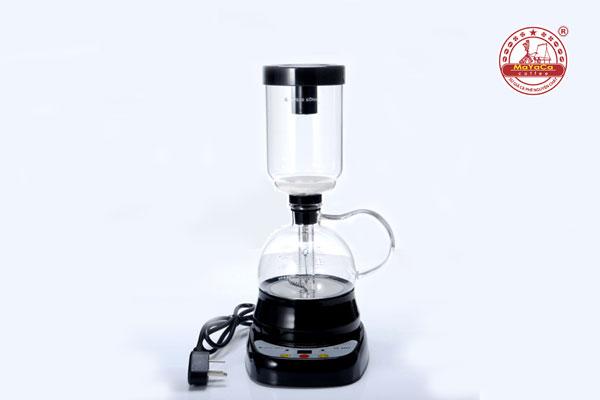 Dụng cụ pha cà phê bằng điện kiểu Nhật màu đen