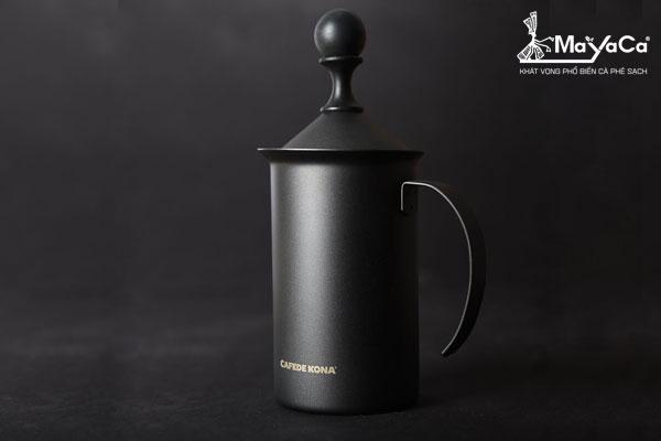Bình đánh sữa màu đen mờ(400 ML)