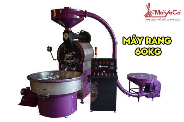 Máy rang cà phê công suất 60kg/mẻ