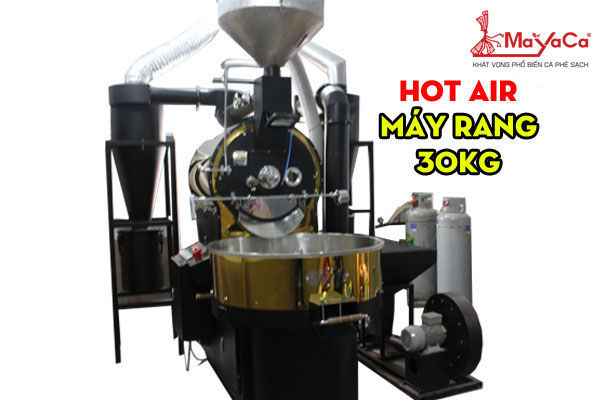 Máy rang HOT AIR 30kg