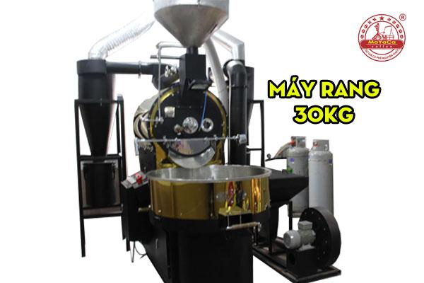 Máy rang cafe Mayaca(30kg)