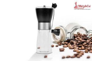 may-xay-ca-phe-bang-tay-nhua-cung-trong-suot-mayacacoffee