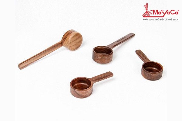 Muỗng gỗ đong cà phê bằng gỗ