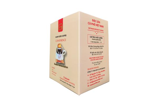 Cà phê phin giấy – Mayaca GI Good Inside – Hộp 7 phin