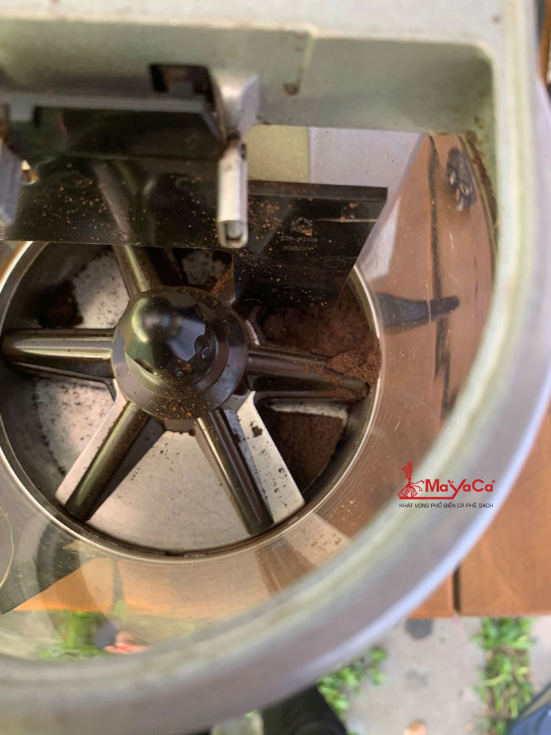 hinh-anh-ve-sinh-may-xay-ca-phe-casadio-ena64-mayacacoffee-3