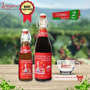 COMBO CHAI - 2 Chai +Ly
