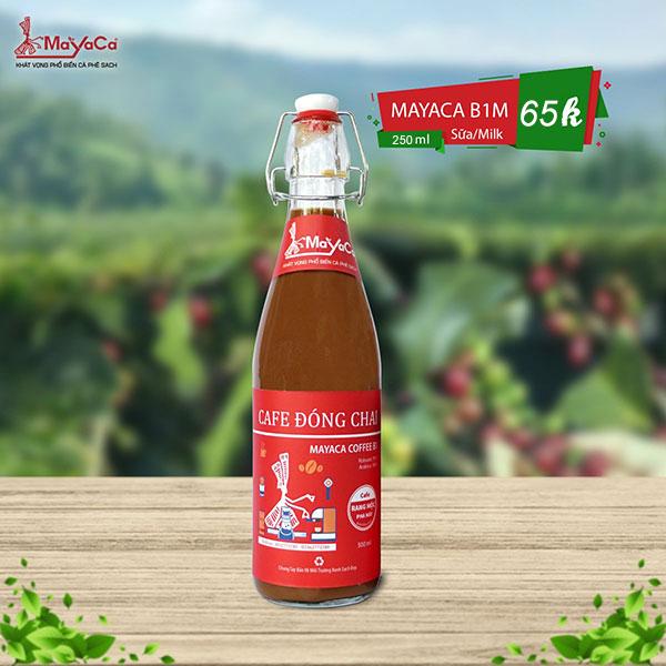 Chai cafe sữa Mayaca B1 250ml